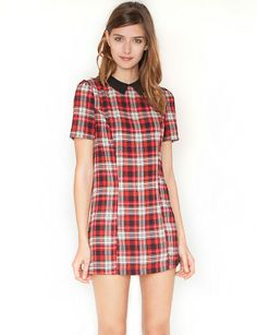Peter plaid dress