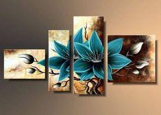 Multiple Canvas Paintings Diy Canvas Art Leaf Art Acrylic Art Beautiful Paintings Art Pictures My Drawings Abstract Wall Art Painting Abstract Acrylic Painting Flowers, Acrylic Art, Abstract Canvas Art, Diy Canvas Art, Painting Abstract, Art Floral, Multiple Canvas Paintings, Triptych Wall Art, Art Pictures