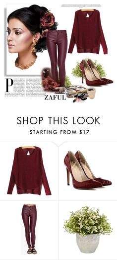 """""""www.zaful.com/?lkid=4313"""" by amelakafedic ❤ liked on Polyvore featuring Nearly Natural and Chanel"""