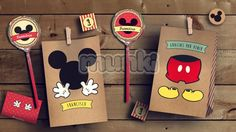 Kit Imprimible Mickey Vintage Personalizado Munki - $ 279,00 Minnie Y Mickey Mouse, Fiesta Mickey Mouse, Mickey Mouse Clubhouse Birthday, Mickey Party, Mickey Mouse Birthday, Mickey Vintage, Mickey Baby Showers, Mouse Parties, Party Themes