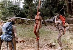 Cannibal Holocaust- Hoax was created to convince audiences that the film was a real documentary. The actors signed contracts to go missing for a period at the release and this led to legal trouble for the film makers. Chillingly though, the violent animal deaths were real including a scene where a live turtle has its limbs hacked off.