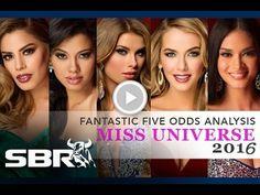Free Video - Miss Universe 2016 Odds Analysis & Picks