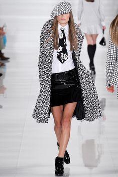 Ralph Lauren Spring 2014 Ready-to-Wear Fashion Show - Mila Krasnoiarova