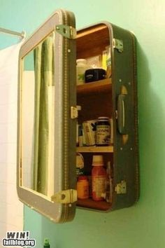 awesome! What a great idea for those who purchase and use old suitcases!