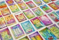 Art, Love & Joy: Inspiration Card Deck Swap