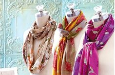 Gifts Galore! Scarves and Shawls at Cost Plus World Market
