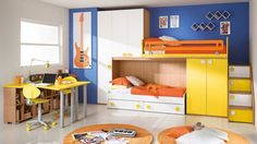 70+ Space Saving Bedroom Furniture for Kids - Interior Bedroom Paint Colors Check more at http://nickyholender.com/space-saving-bedroom-furniture-for-kids/