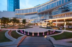 The Hotel - Pullman Jakarta Central Park Shopping Mall Architecture, A As Architecture, Dp Architects, Shoping Mall, Restaurant Hotel, Hotel Floor Plan, Future Buildings, Commercial Complex, Facade Lighting
