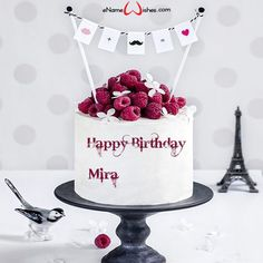 Happy Birthday Cake Pictures, Birthday Wishes Cake, Custom Birthday Cakes, Birthday Name, Birthday Gift For Him, Happy Birthday Cakes, Happy Birthday Chocolate Cake, Stylish Name, Cake Name
