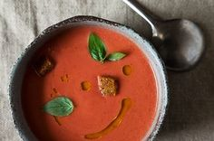 Eleven Madison Park's Strawberry Gazpacho Recipe on Food52 recipe on Food52