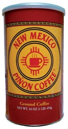 Coffee beans + pine nuts make this an unusual but familiar flavor.  Coffee lovers should give it a try -- New Mexico Pinon Coffee 16 Oz. by New Mexico Pinon Coffee Co.,