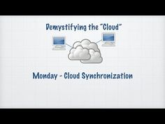 Tech Tip: Introduction to Cloud Synchronization.  In today's Tech Talk Chet introduces the concept of Cloud Synchronization, In today's Tech Talk Chet provides an intro to Cloud Synchronization... or how to use connected devices to share changes in specific apps or data (documents, calendar, etc).