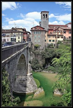 Cividale : Ponte del Diavolo - The Devil's bridge - Ponte do Diabo - Az Ördög hídja