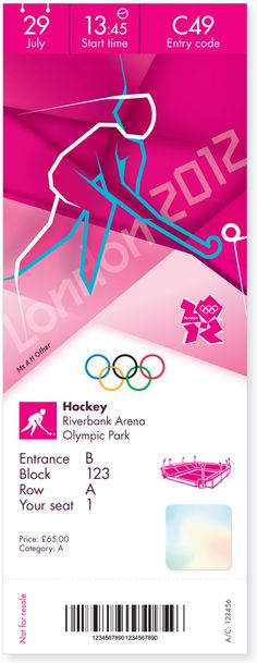 London 2012 Olympic and Paralympic Games Tickets | Designer: Futurebrand | Image 6 of 12