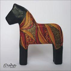 duha / Koník podle Klimta