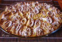 Sült túrós palacsinta mascarponéval Hungarian Desserts, Hungarian Recipes, Pancake Dessert, Crepe Cake, Mille Crepe, Crepes, Macaroni And Cheese, Cake Recipes, Pancakes