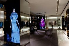 Gucci Milan Store Opening by OOOii. Gucci recently launched its Gucci Immersive Retail Experience initiative that will see interactive digital signage systems deployed progressively to Gucci's flagship stores around the world over the next two years.