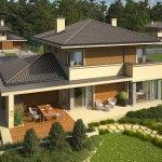 Mediterranean Double Storey House