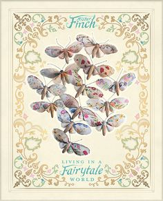 Look what I found in my FB news. A book by Mister Finch: Living in a Fairytale World - If you click through you can pre-order a copy of your very own. - Congratulations @Jack S