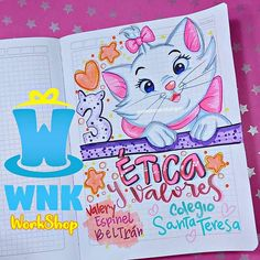W N K workshop🎩 (@wonkasworkshop92) • Fotos y videos de Instagram Bullet Journal Writing, Bullet Journal School, Bullet Journal Ideas Pages, Doodle Quotes, School Organization Notes, Disney On Ice, School Notebooks, Hand Lettering Fonts, Paint Cards