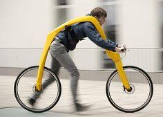 Fliz Pedal-Less Bicycle prototype 1
