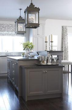 Kitchen - Sarah's House HGTV interesting lighting choice