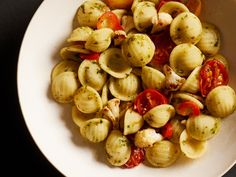 Barilla® Collezione Orecchiette with Roasted Cauliflower, Barilla® Pesto & Burst Tomatoes... Try this step by step Barilla recipe for a delicious meal that you're sure to love.