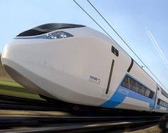 Reino Unido Projeta Comboio do Futuro