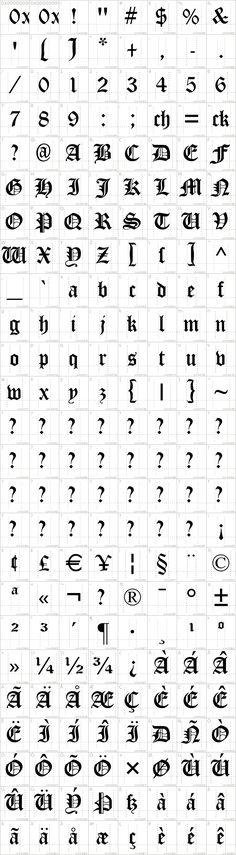 Cloister Black Font · 1001 Fonts