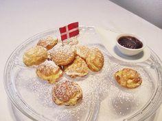 Rezept für warme Dänische Æbleskiver mit Marmelade - Die Typisch Dänischen Apfelbällchen schmecken besonders lecker in der Weihnachtszeit.