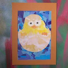 Bricolage de Pâques pour petits et grands (découpage et collage).