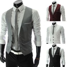 Free delivery of 2013 new styles Men's Korean metrosexual man slim V collar vest-in Vests & Waistcoats from Apparel & Accessories on Aliexpress.com