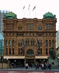 Queen Victoria Building -- Sydney, Australia.... loved this!
