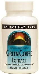 Price:$30.00, SKU:SN30837, Brand:Source Naturals, Size:60 tablets Dec : Green Coffee Extract exhibits strong antioxidant protection against oxidative stress caused by free radicals, a primary cause of premature ageing. It is produced from raw, unroasted coffee beans with low caffeine content. visit us http://www.tasmanhealth.co.nz/source-naturals-green-coffee-extract/ for more details!!