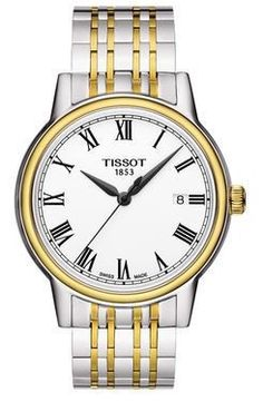 Tissot Watch Carson #bezel-fixed #bracelet-strap-steel #brand-tissot #case-material-steel #delivery-timescale-call-us #dial-colour-white #gender-mens #luxury #movement-quartz-battery #official-stockist-for-tissot-watches #packaging-tissot-watch-packaging #subcat-t-classic #supplier-model-no-t0854102201300 #warranty-tissot-official-2-year-guarantee #water-resistant-30m