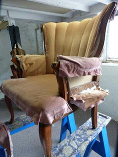 Practical Upholstery: Channel Back Upholstery