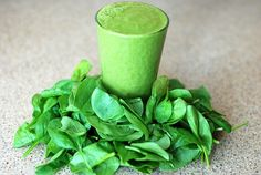 A Green Smoothie – Raw Veg Cleanse Week