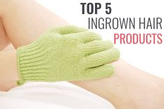 When talking about hair removal for women one issue that often rises is ingrown hairs. Here are 5 of the best ingrown hair products. Hair Removal Diy, Laser Hair Removal, Ingrown Hair Remedies, Hair Scrub, Exfoliating Gloves, Prevent Ingrown Hairs, Hair Essentials, How To Draw Hair, Skin Treatments