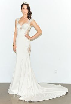 Galia Lahav Wedding Dresses Spring 2015 Bridal Runway Shows Brides.com   Wedding Dresses Style   Brides.com