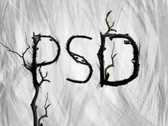 Create Creepy, Branch Based Typography   PSDFan