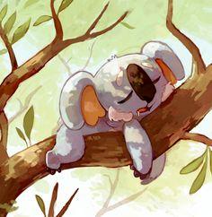 Nekkoala, the koala bear pokemon.