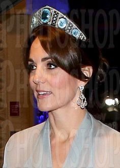 Duchess of Cambridge. Swedish Aquamarine Kokoshink.