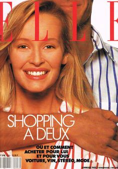 Estelle Lefebure  -  Elle France May 1988