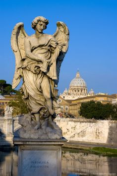 Vatican and River Tiber, Rome, Italy.  Go to www.YourTravelVideos.com or just click on photo for home videos and much more on sites like this.