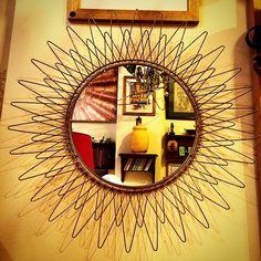 1960-70 Danimarka Güneş Aynası / 1960-70 Denmark Sunbrust Mirror #originalakyol #vintagestore #cihangir #akyol25A