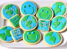 earth day cookies