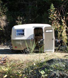 such a cute little camper rental
