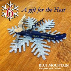 """To celebrate a great year we're toasting with a days of Christmas"""" giveaway! We will feature one Blue Mountain wine or gift for each of the next 12 days along with the perfect holiday occasion to enjoy them or ideas on who to share them with. Christmas Giveaways, 12 Days Of Christmas, Blue Mountain, December, Notes, Wine, Holiday, Blog, Gifts"""