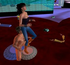 A Slave Worshiping My Jeans And See If You Can See The Shrunken Men Nearby Ginette Pinazzo  C B Future Femdom Matriarchy In Second Life