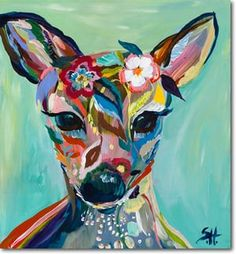 Abstract Fawn by Starla Michelle